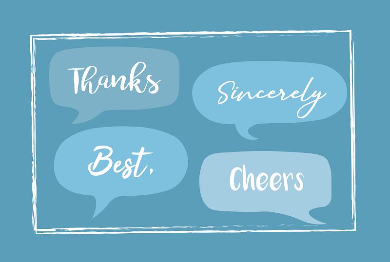Một số từ/cụm từ có nghĩa tương đồng với Best regards là gì?