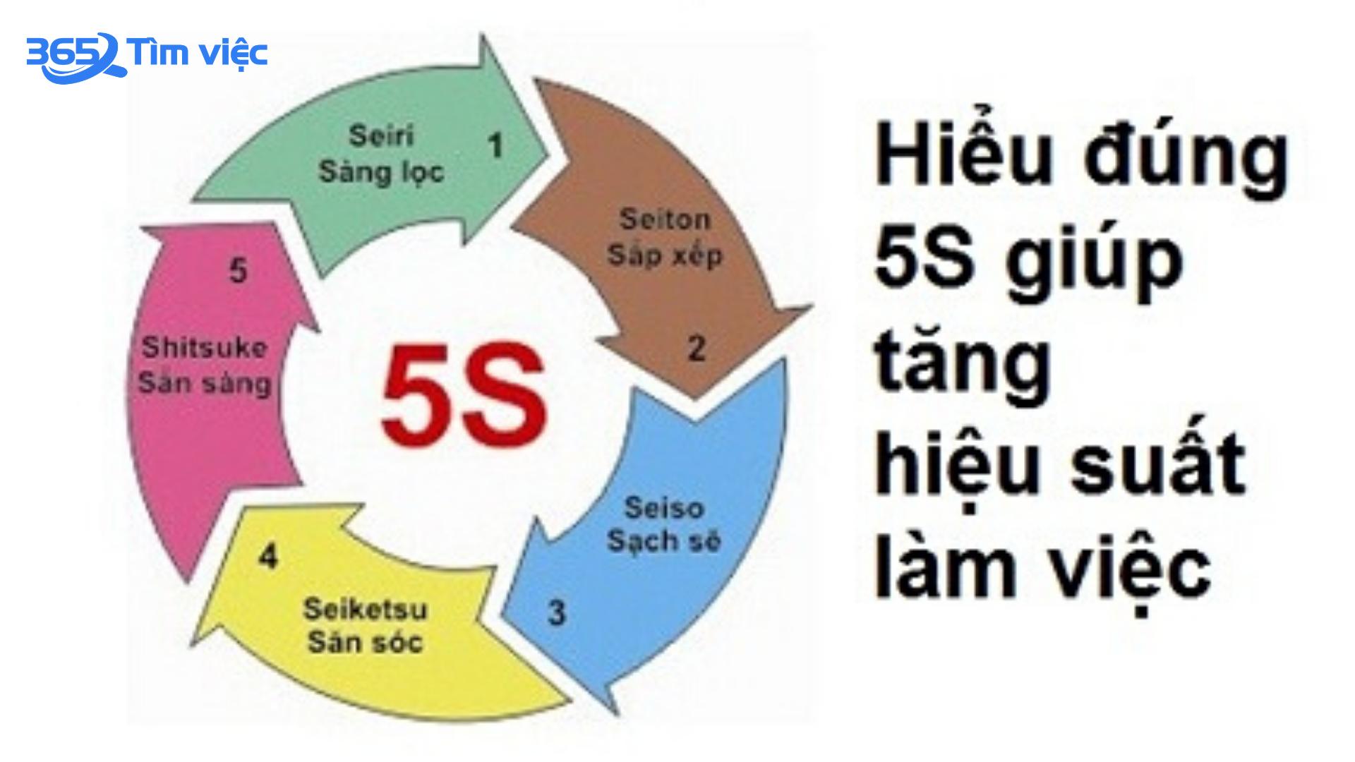 [Khái niệm] Tiêu chuẩn 5S là gì? Tác dụng của tiêu chuẩn mô hình 5S – 2021