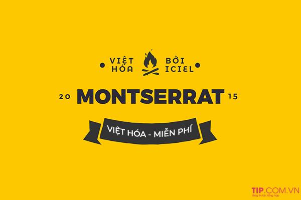 #2021 Bộ Font Montserrat Việt hóa đầy đủ nhất