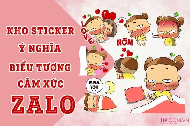 #2021 iCon Zalo, ý nghĩa Biểu tượng cảm xúc Zalo, Kho Sticker hot nhất
