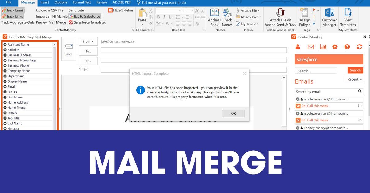 [Khái niệm] Mail merge là gì? Hướng dẫn bạn cách sử dụng mail merge đơn giản – 2021