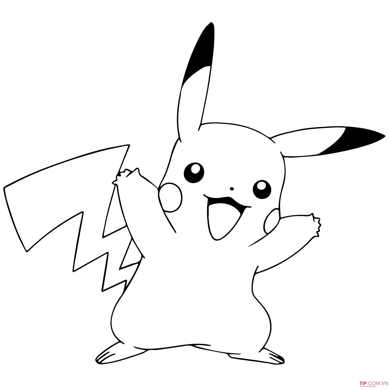 #2021 +100 mẫu tranh tô màu pokemon đẹp sinh động cho bé tập tô màu
