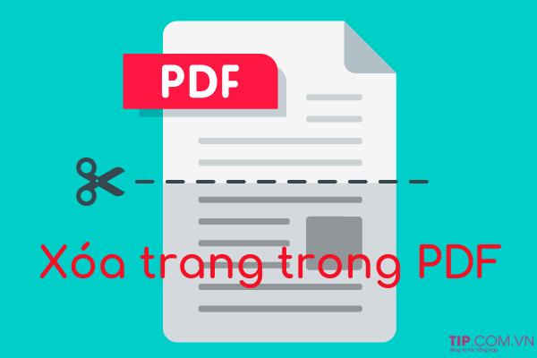#2021 Cách xóa trang pdf trong một tài liệu PDF bất kỳ nhanh chóng