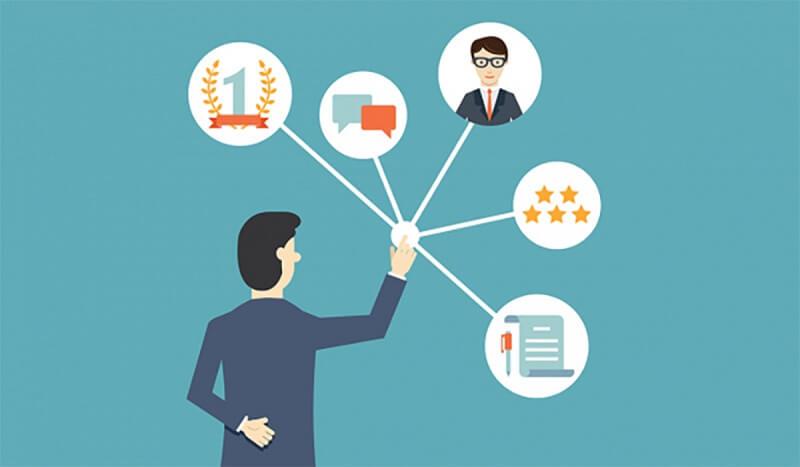 Xác định toàn bộ những điểm chạm mà khách hàng có thể tương tác
