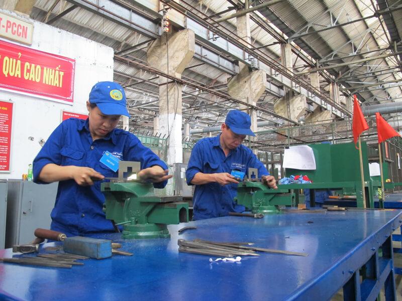 Việc làm công nhân sản xuất