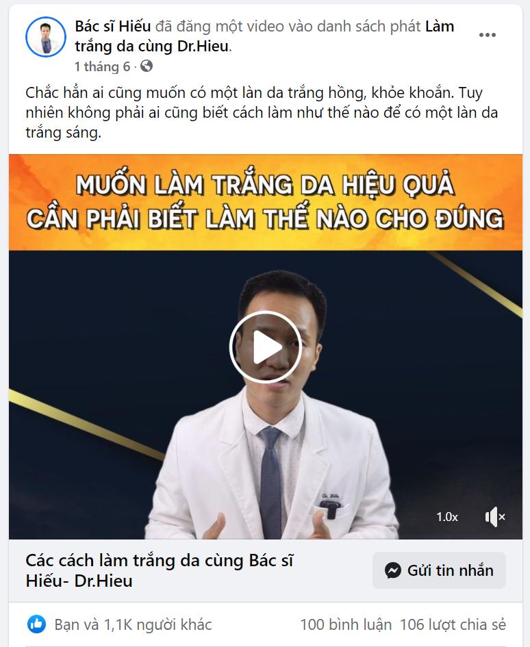 Hướng dẫn chạy quảng cáo hàng mỹ phẩm trắng da hiệu quả mới nhất