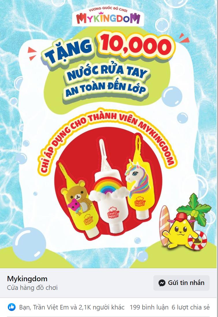 target nước rửa tay sát khuẩn cho trẻ