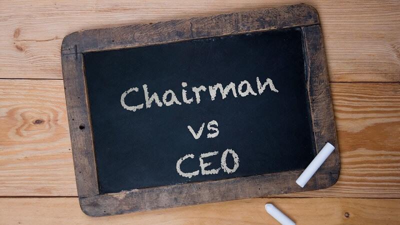 Chairman là gì? Phân biệt Chairman và CEO